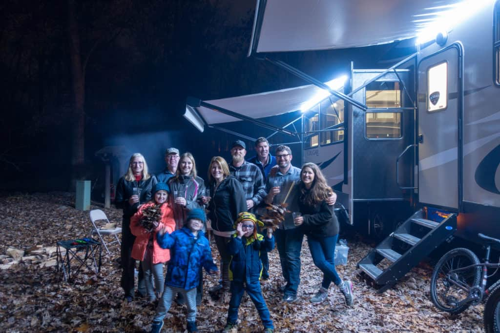 family photo rv jellystone