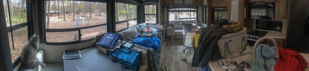 difficult part of adjusting to RV life