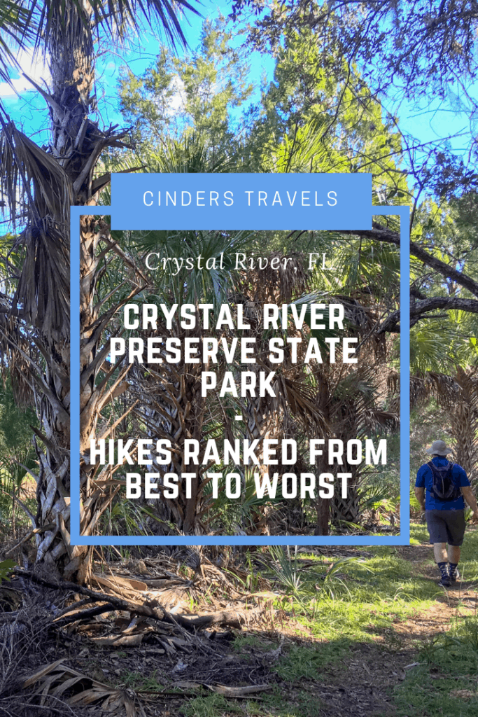 Crystal River Preserve State Park Trails Pin