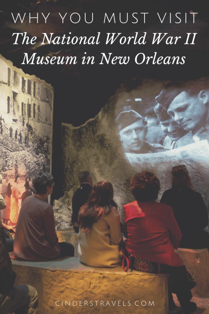 National World War II Museum Pin