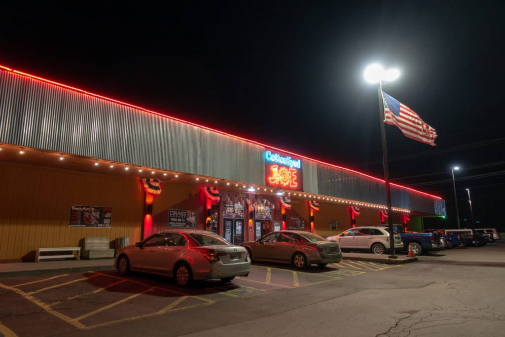 Front of Cotton-Eyed Joe in Knoxville, Tennessee