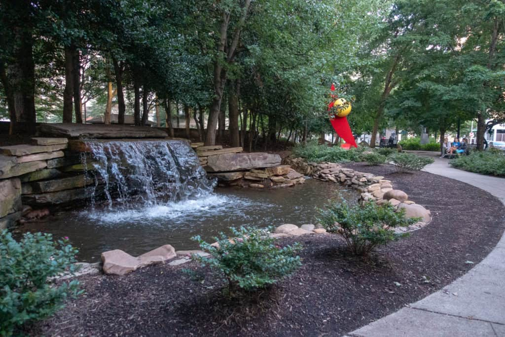 Charles Krutch Park in Knoxville, Tennessee