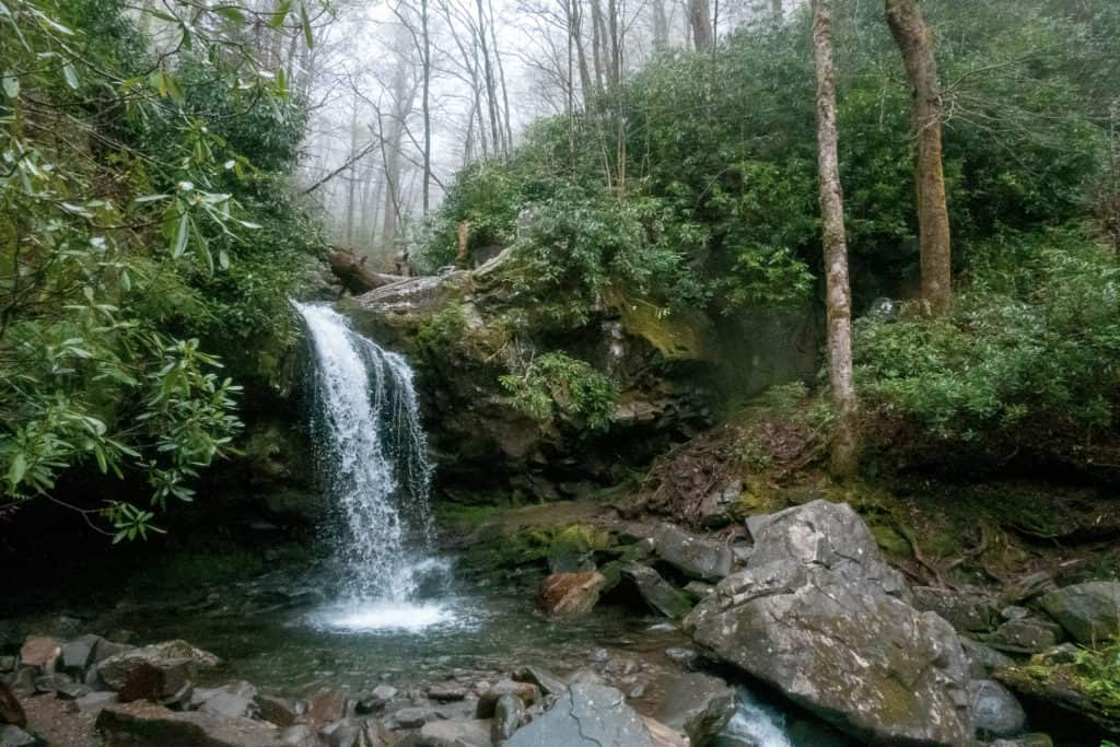 Smoky Mountain National Park Waterfall How to plan an RV road trip