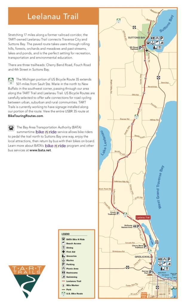Tart trail map