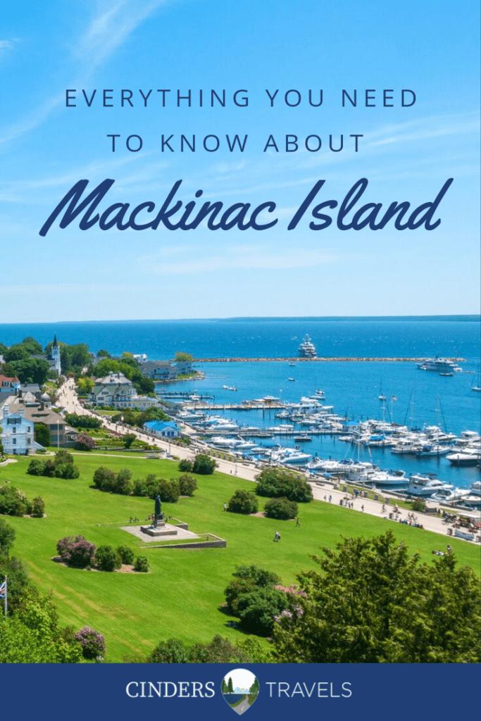 How to get to Mackinac Island Pin