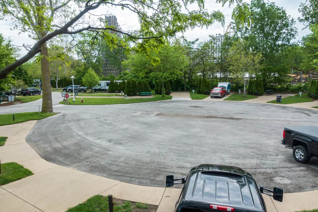 Cedar Point RV Lot