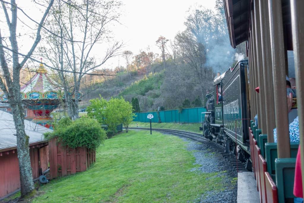 Dollywood Express Train