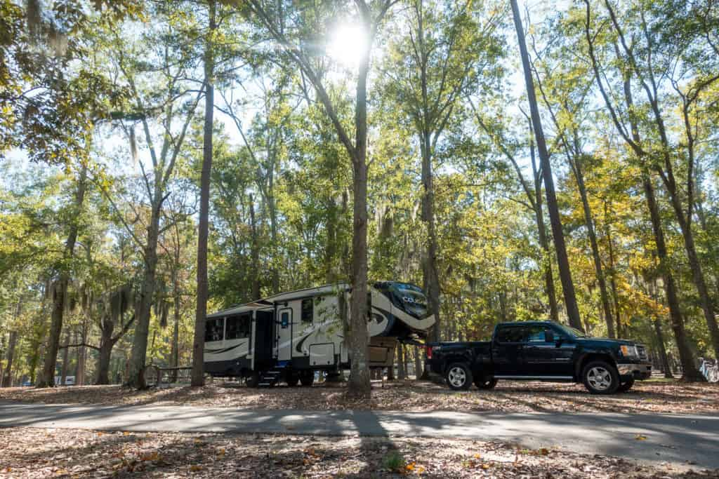 Santee Camping Spot How to Keep Calm while Parking your Camper