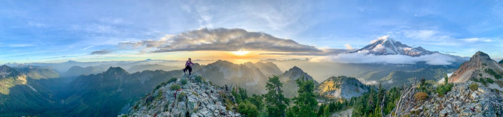 Mount Rainier Pinnacle Peak Trail