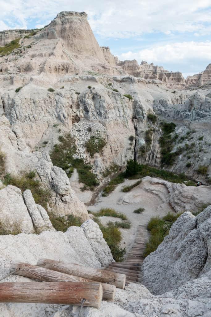 Badlands Notch Trail Ladder