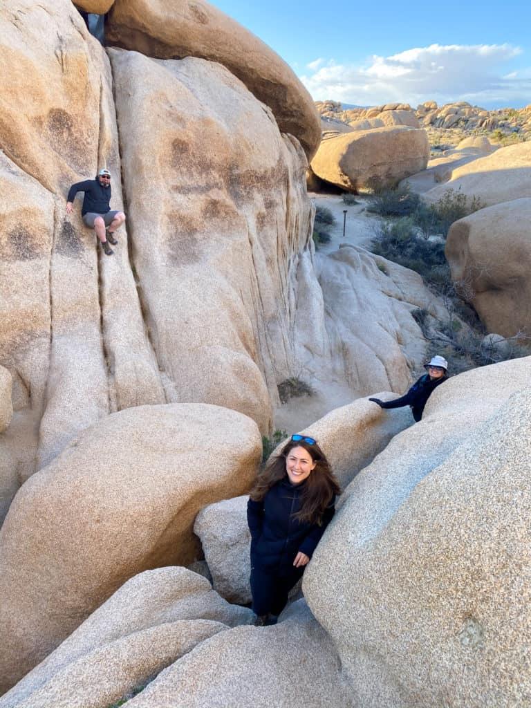 Climbing at Joshua Tree National Park