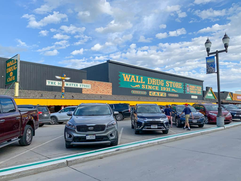 Wall Drug Store Entrance