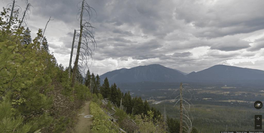 virtual travel hike glacier national park