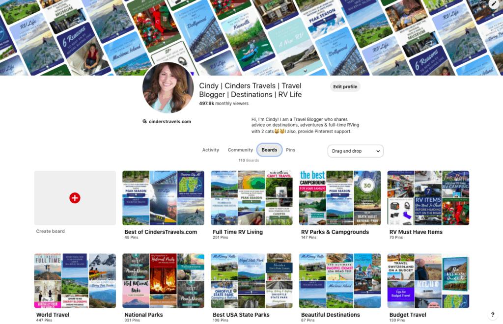 Cinders Travels Pinterest