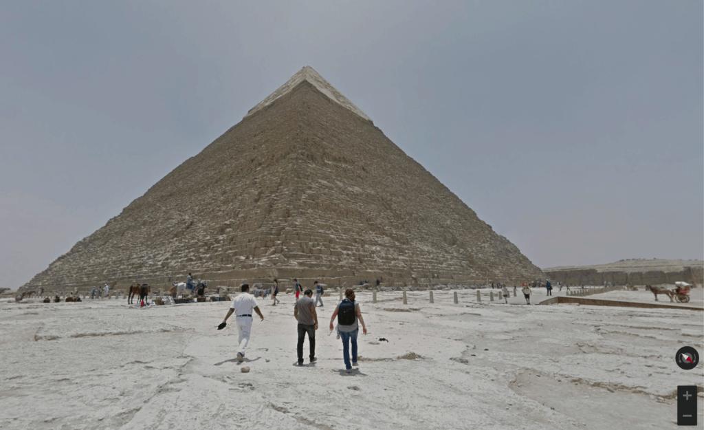 virtual travel pyramids of giza