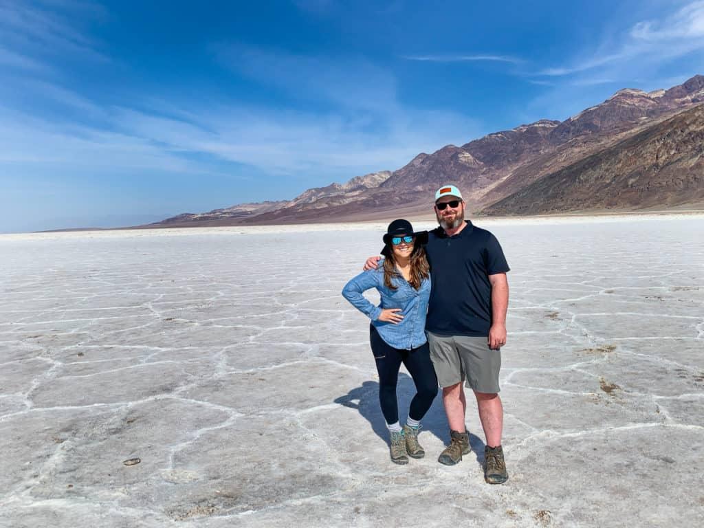 Cindy and Barrett Salt Flats