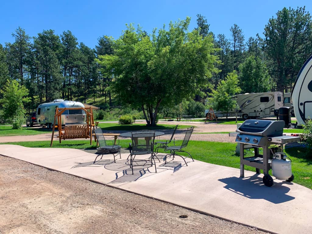 Mount Rushmore campsite