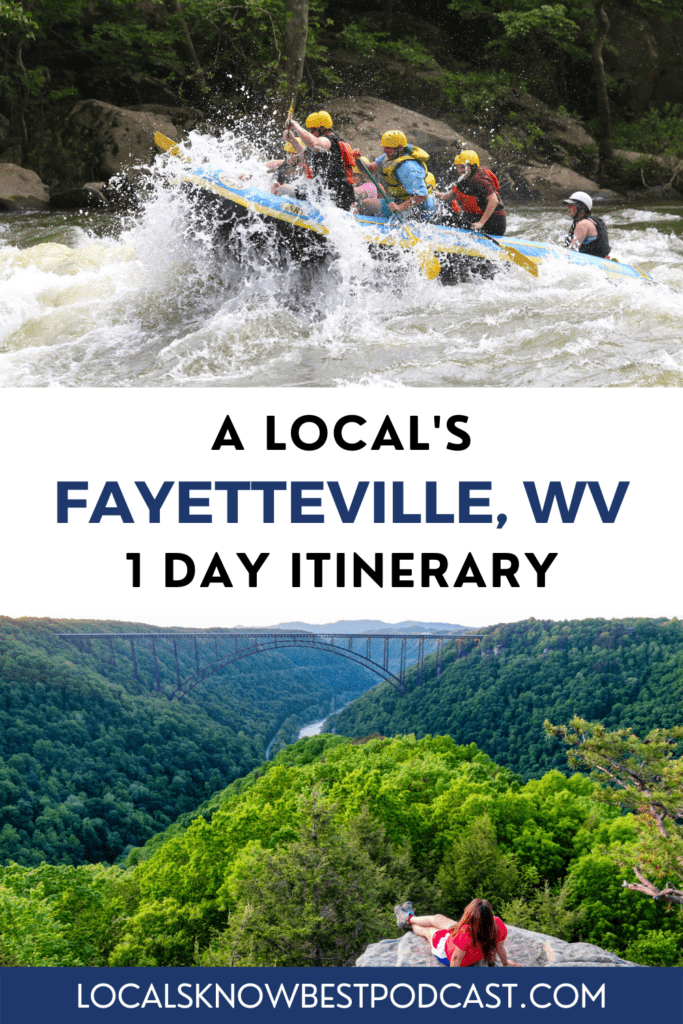 On this episode of the Locals Know Best travel podcast, we'll be visiting Fayetteville, West Virginia through the eyes of local adventure outfitter business owner, Heather Johnson.