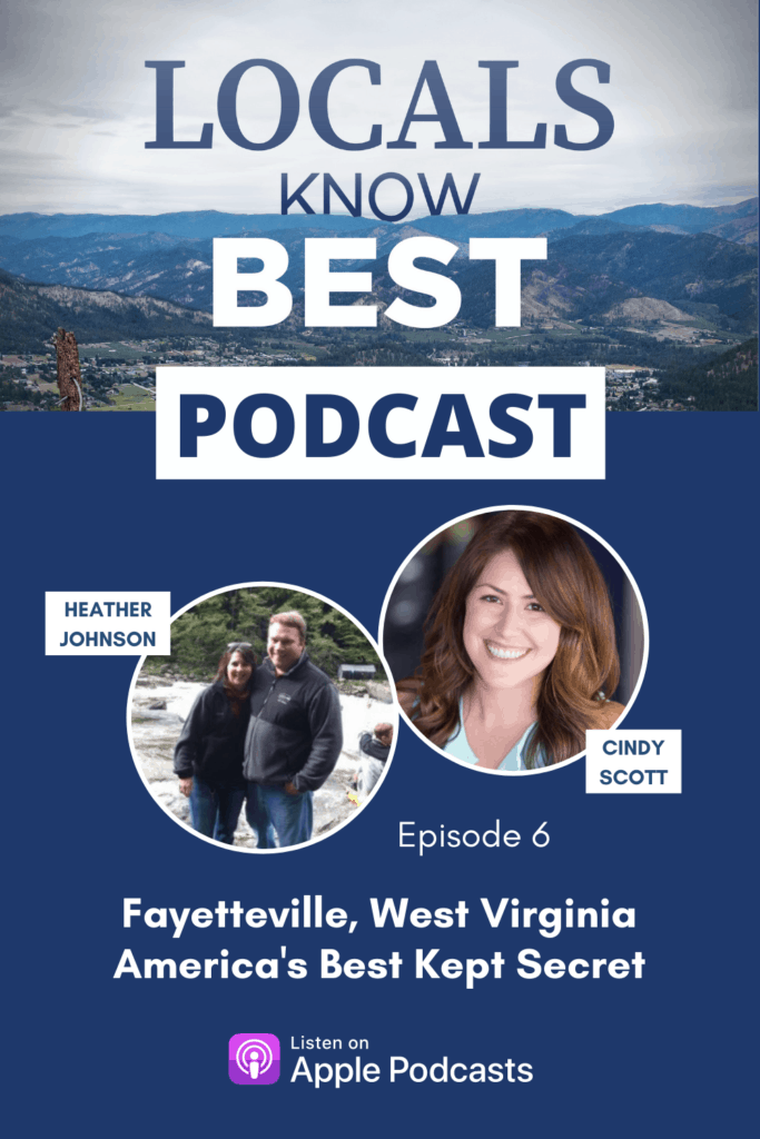 Locals Know Best Fayetteville Podcast Episode Pin