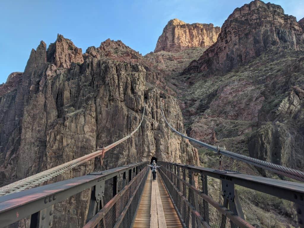 Black Bridge at Grand Canyon