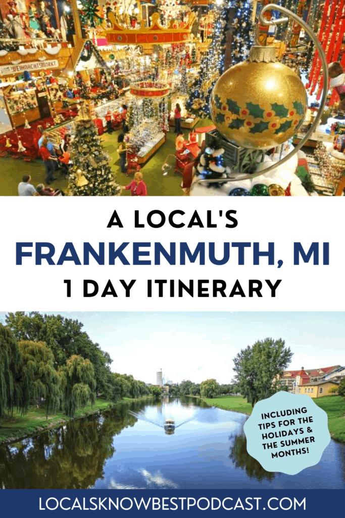 Frankenmuth locals know best pin