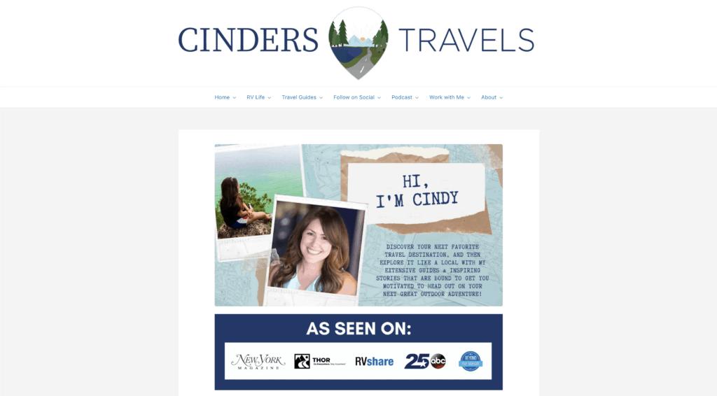 virtual travel cinders travels