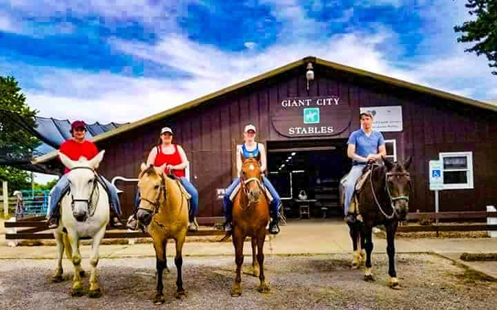 Shawnee National Forest Giant City Stables