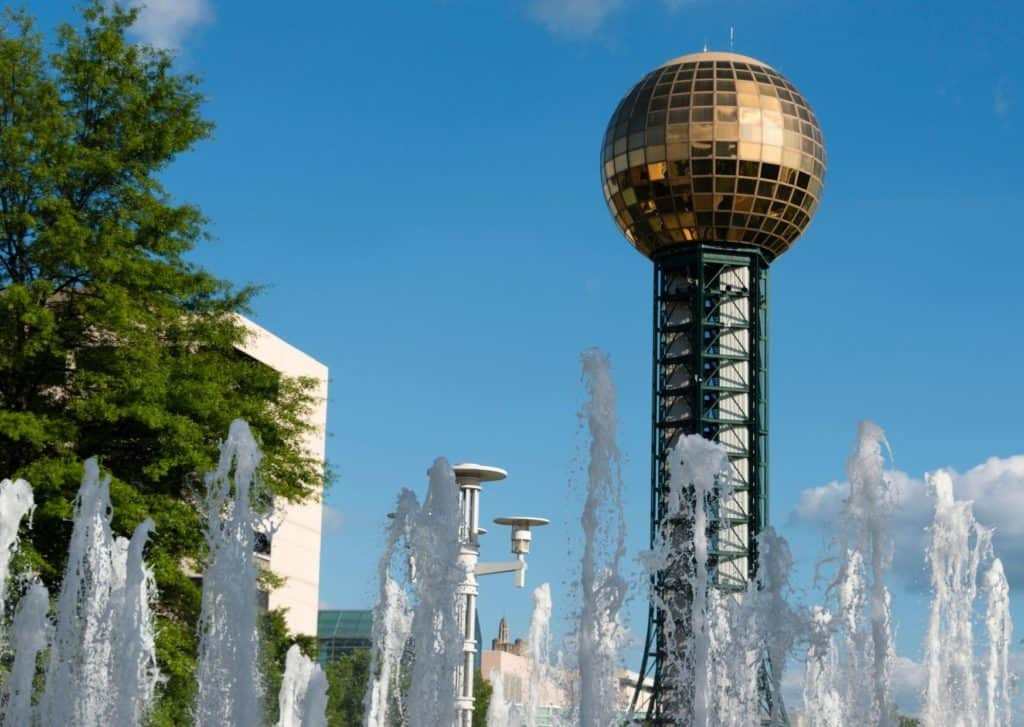 Sunsphere in Knoxville, Tennessee