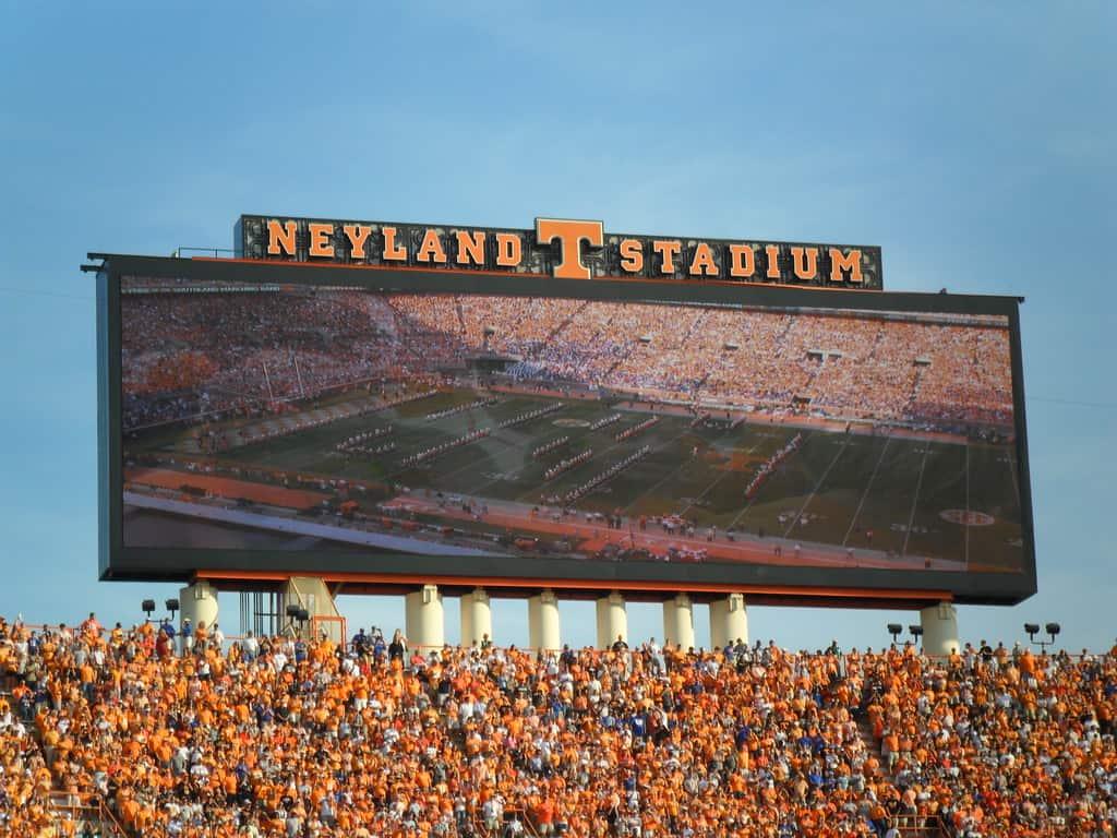 Neyland Stadium in Knoxville, Tennessee