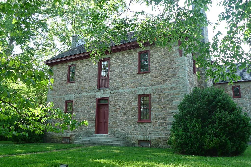 Historic Ramsey House in Knoxville, Tennessee