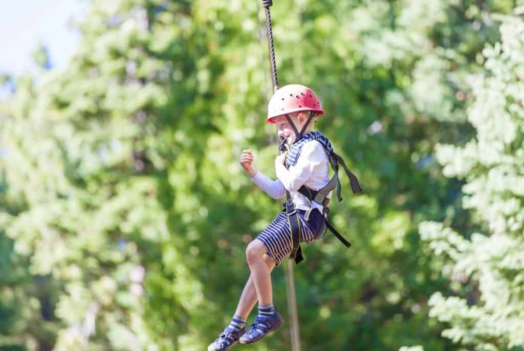 Navitat Canopy Adventures Ziplining in Knoxville, Tennessee