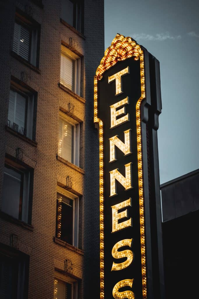 Tennessee Theatre in Knoxville, Tennessee