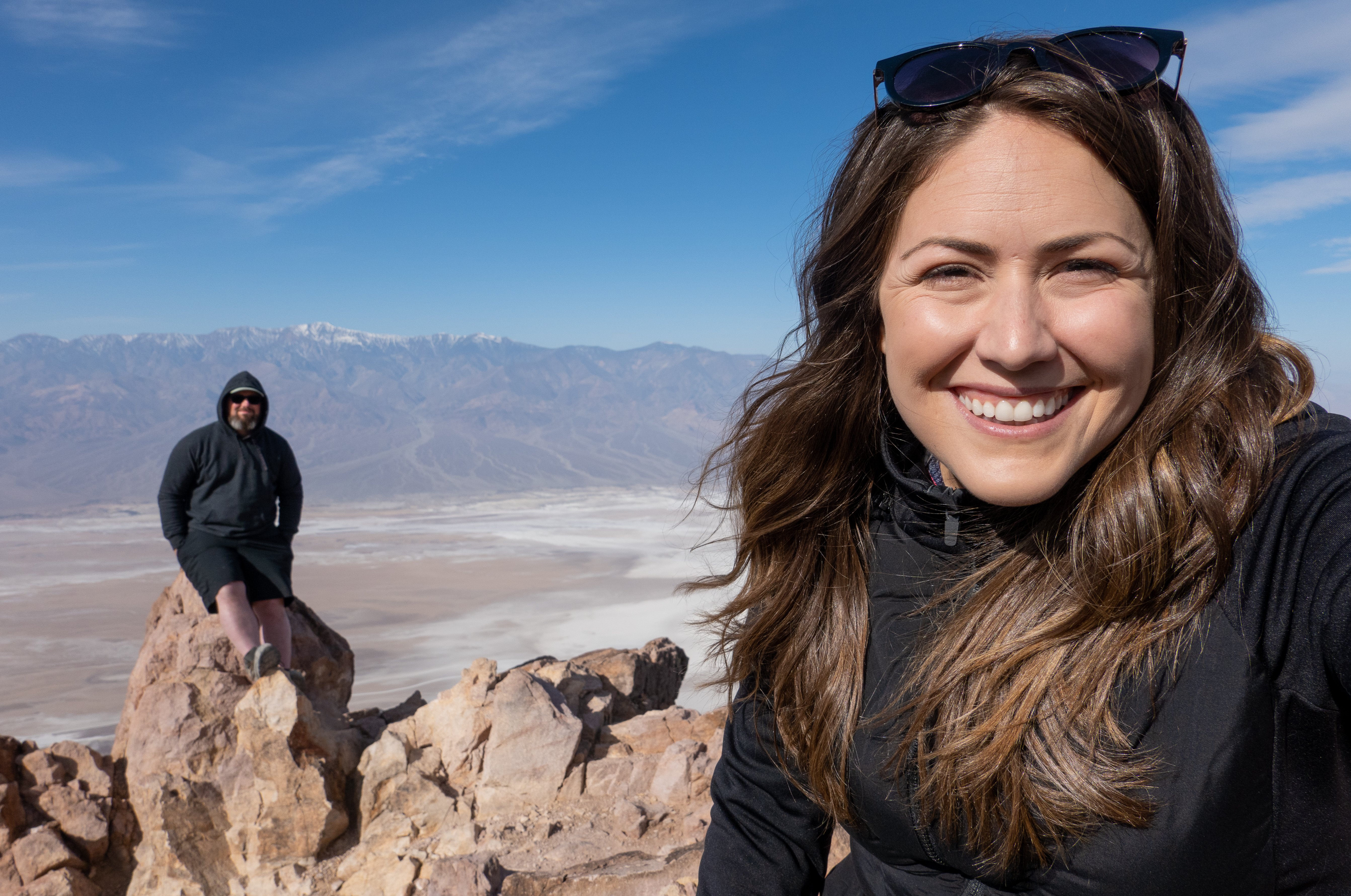 Barrett and Cindy at Death Valley National Park